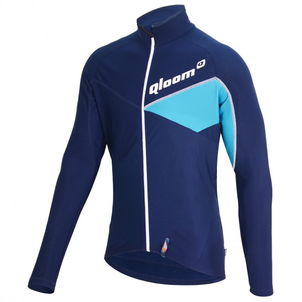 Qloom - Jefferson Shirt L/S Full Zip - Pyöräilypusero