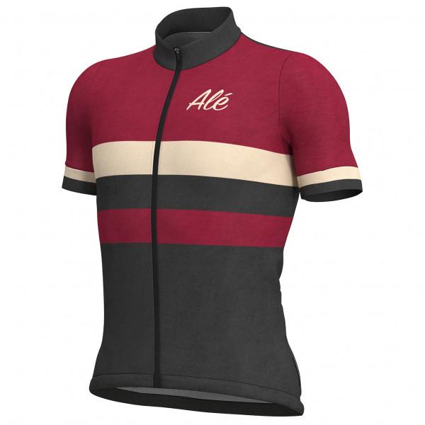 Alé Jersey Classic Vintage - Rød - Cykelexperten.dk | Jerseys