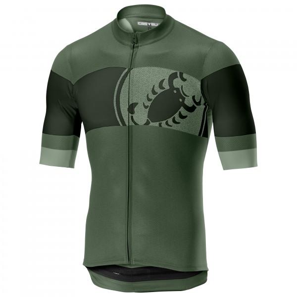 Castelli - Ruota Jersey Full Zip - Cykeltrikå