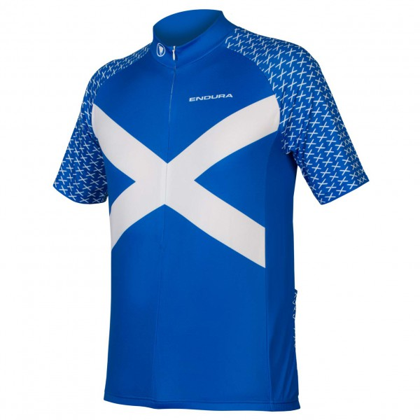 Endura - Bedrucktes Coolmax Schottland Trikot - Sykkeldress