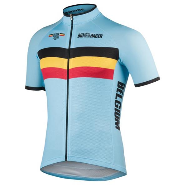 Bioracer - Belgium Bodyfit Short Sleeve Jersey 2.0 - Pyöräilypusero