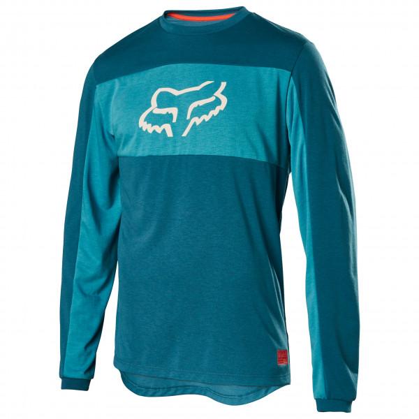 FOX Racing Ranger Drirelease L/S Foxhead Jersey - Cykeljersey Herre   Jerseys