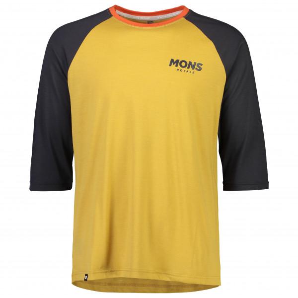 Mons Royale - Tarn Freeride Raglan 3/4 - Cycling jersey