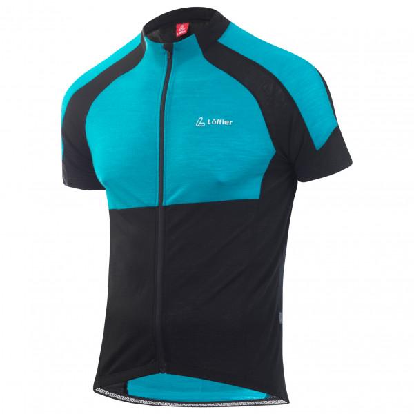 Löffler - Bike Jersey Full Zip Merino - Fietsshirt