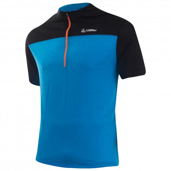 Löffler - Bike Shirt Half Zip Merino - Cykeltrikå
