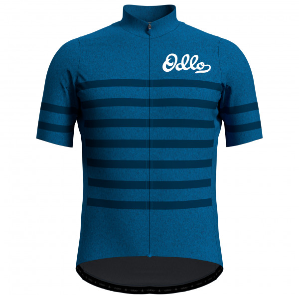 Odlo - Stand-Up Collar S/S Full Zip Element - Cycling jersey