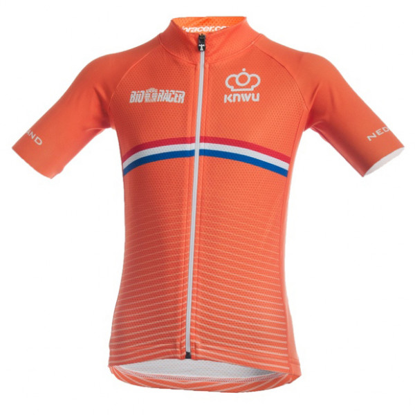 Bioracer - Netherlands Bodyfit Short Sleeves Jersey 2.0 - Maillot vélo