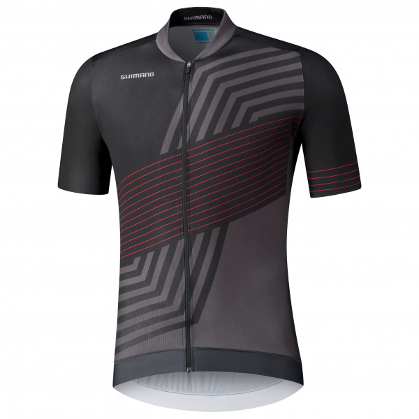 Shimano - Kita S/S Zip Jersey - Maillot de cyclisme
