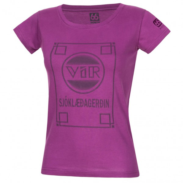 66 North - Women's Logn T-Shirt Vir - T-Shirt