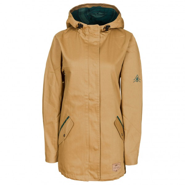 Bleed - Women's Guerilla Light Parka - Mantel