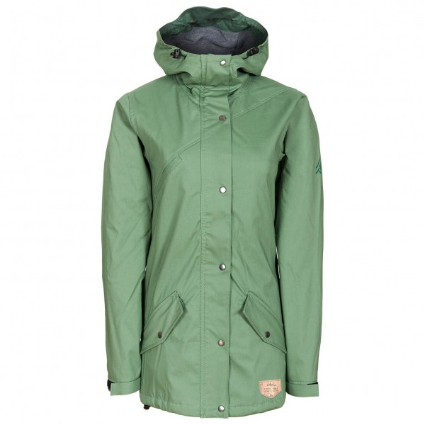 Bleed - Women's Functional Parka - Mantel