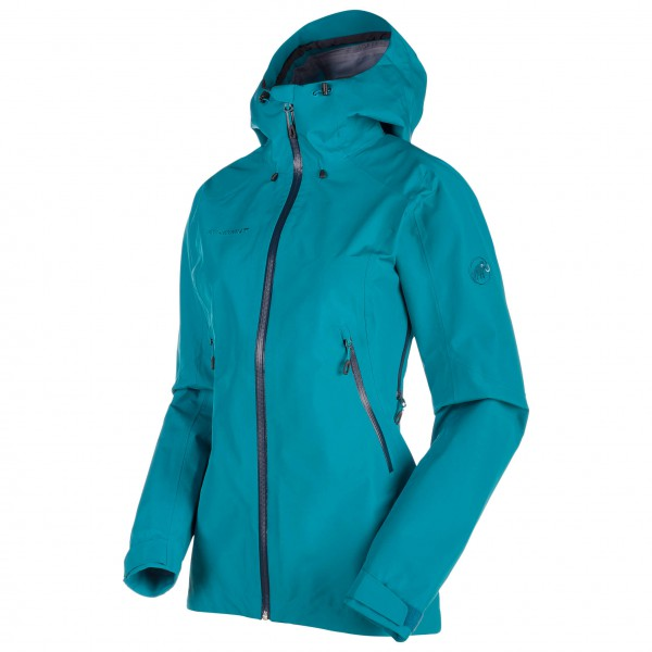 Mammut - Ridge HS Hooded Jacket Women - Hardshelltakki