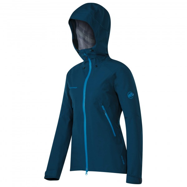 Mammut - Ridge HS Hooded Jacket Women - Hardshelltakki
