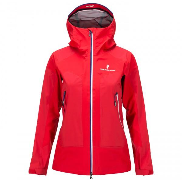 Peak Performance - Women's Black Light Core Jacket - Waterproof jacket
