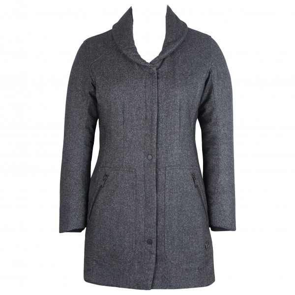 Alchemy Equipment - Women's Insulated Shawl Collar Coat - Lang jakke