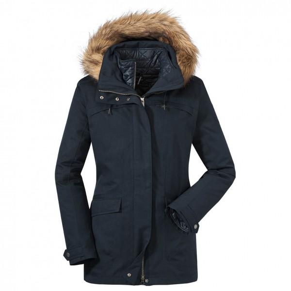 Schöffel - Women's 3in1 Jacket Genova - Pitkä takki