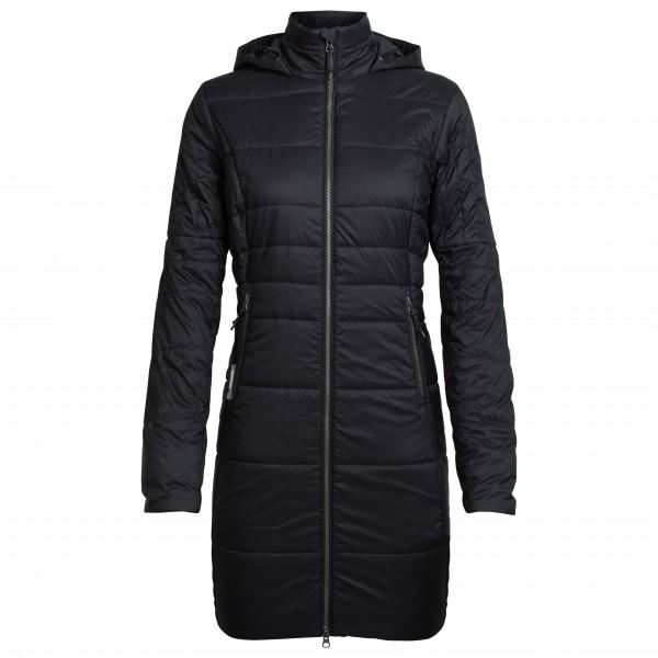 Icebreaker - Women's Stratus X 3/4 Hooded Jacket - Pitkä takki