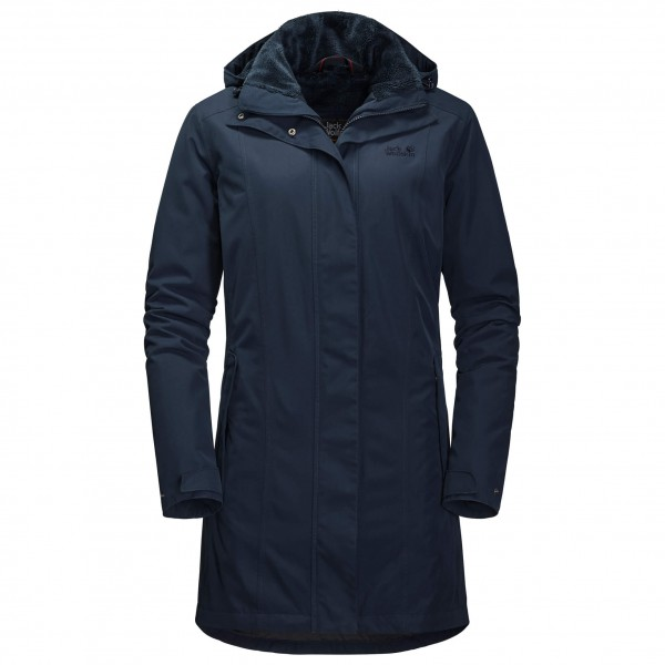 Jack Wolfskin - Women's Madison Avenue Coat - Långjacka