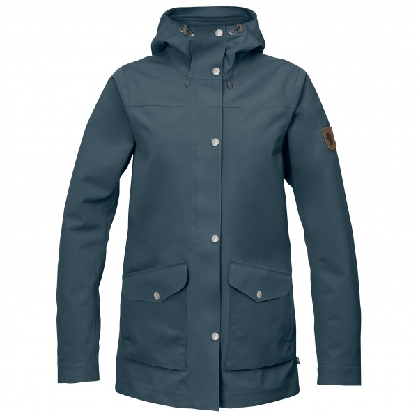 Fjällräven - Women's Greenland Eco-Shell Jacket - Regnjakke