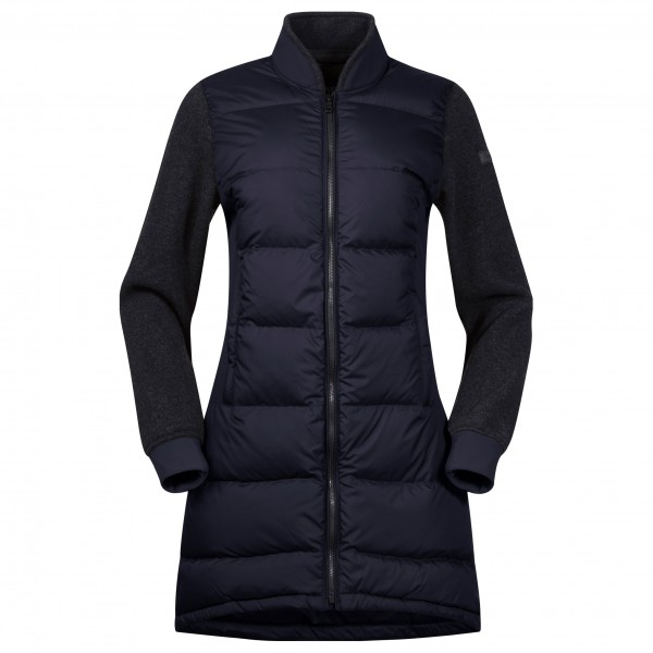 Bergans - Women's Oslo Down Hybrid Long Jacket - Långjacka