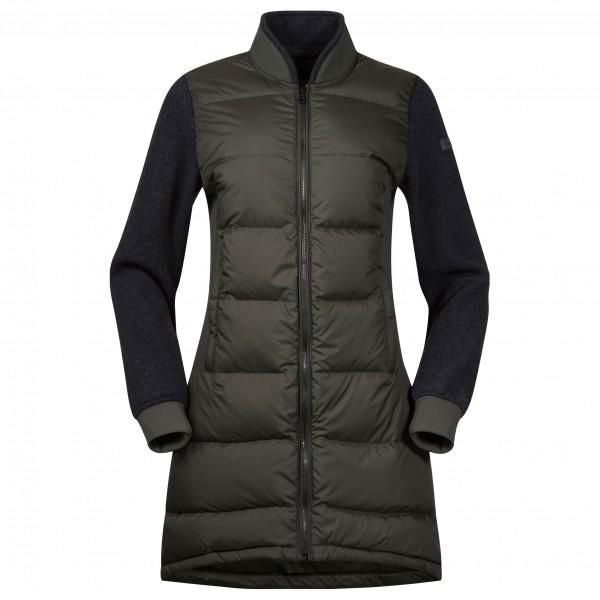 Bergans - Women's Oslo Down Hybrid Long Jacket - Frakke