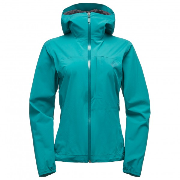 Black Diamond - Women's Fineline Stretch Rain Shell - Sadetakki