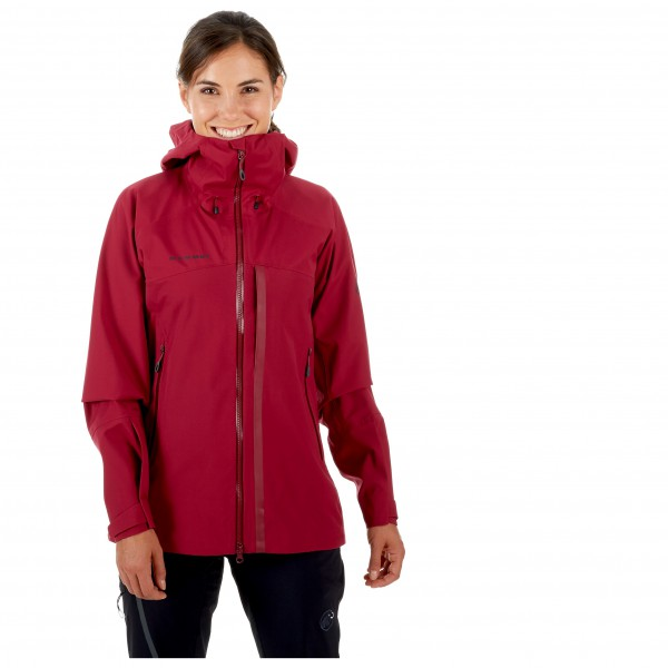 Mammut - Women's Masao HS Hooded Jacket - Regenjack