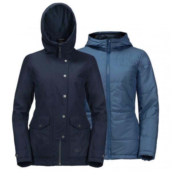 Jack Wolfskin - Women's Devon Island Jacket - Pitkä takki
