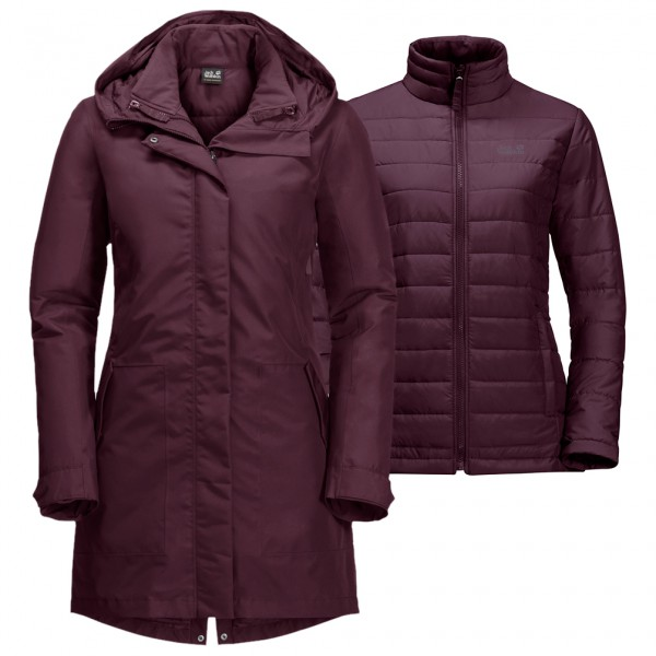 Jack Wolfskin - Women's Monterey Bay Coat - Mantel