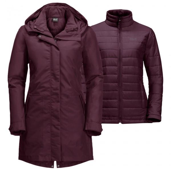 Jack Wolfskin - Women's Monterey Bay Coat - 2-in-1 jacket