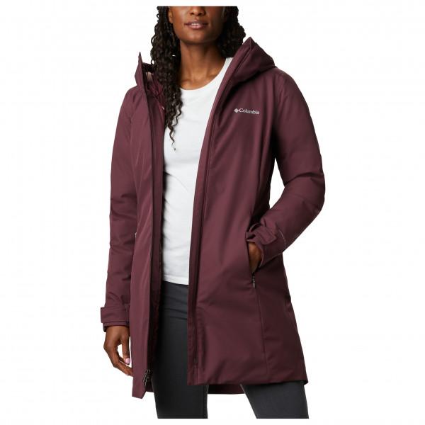 Columbia - Women's Autumn Rise Mid Jacket - Pitkä takki