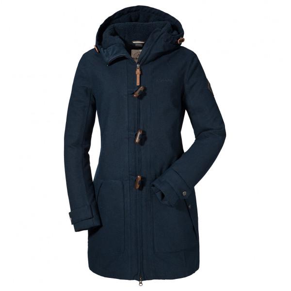 Schöffel Duffle Manteau Women's Bregenz Navy Blazer38EU Coat 1 WD2IEYH9