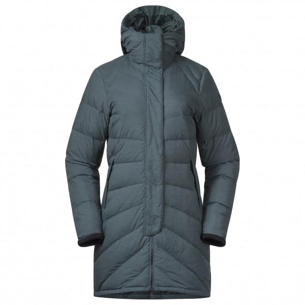 Bergans - Women's Oslo Down Light Coat with Hood - Långjacka