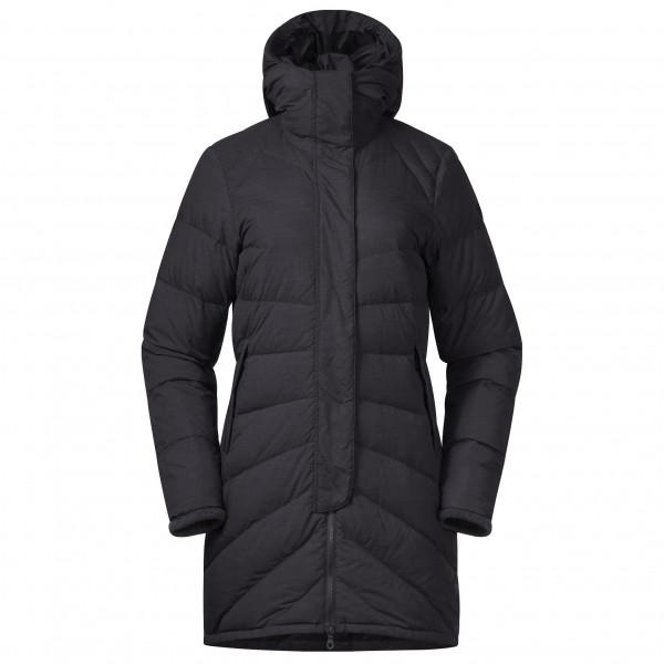 Bergans - Women's Oslo Down Light Coat with Hood - Pitkä takki