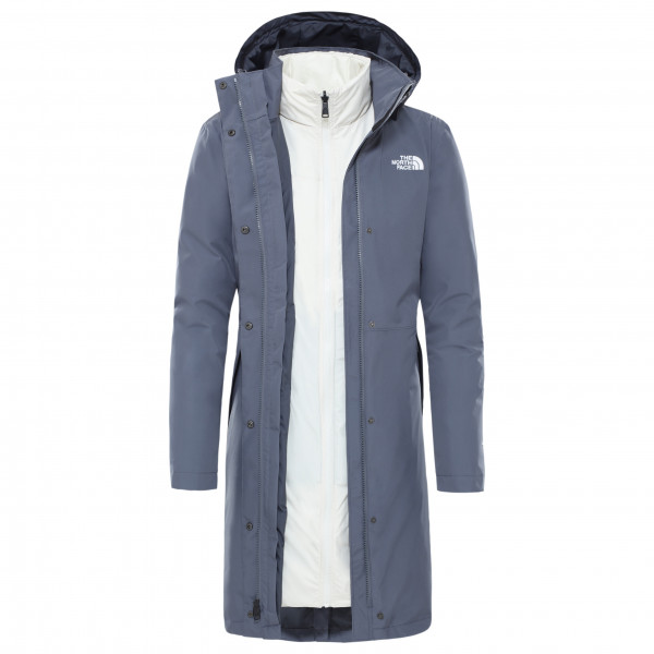 The North Face - Women's Recycled Suzanne Triclimate - Pitkä takki