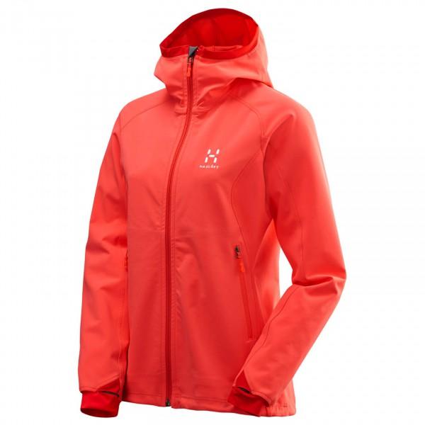 Haglöfs - Women's Gecko Lite Hood - Softshell jacket