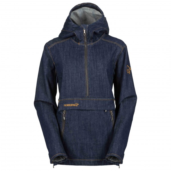 Norrøna - Women's Svalbard Denim Anorak Limited Edition
