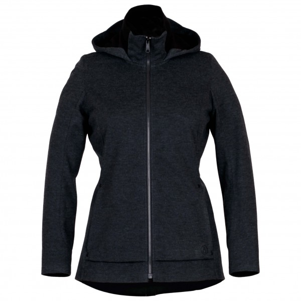 Alchemy Equipment - Womens Laminated Softshell Hooded Jacket