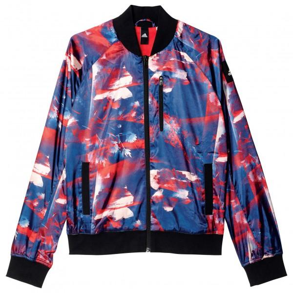 adidas - Women's Flower Bomber Jacket - Vapaa-ajan takki
