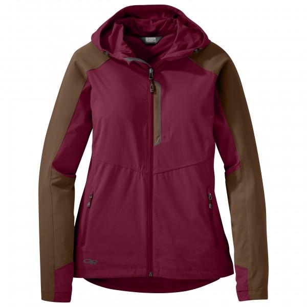 Outdoor Research - Women's Ferrosi Hooded Jacket - Softshelljack