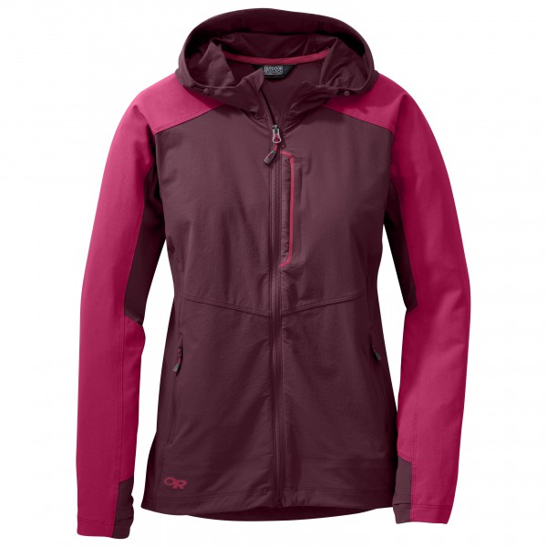 Outdoor Research - Women's Ferrosi Hooded Jacket - Softshelljacka