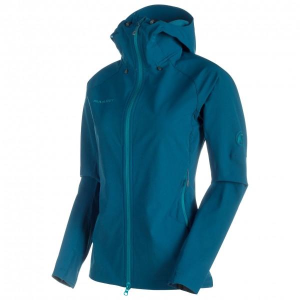 Mammut - Base Jump SO Hooded Jacket Women - Softshell jacket