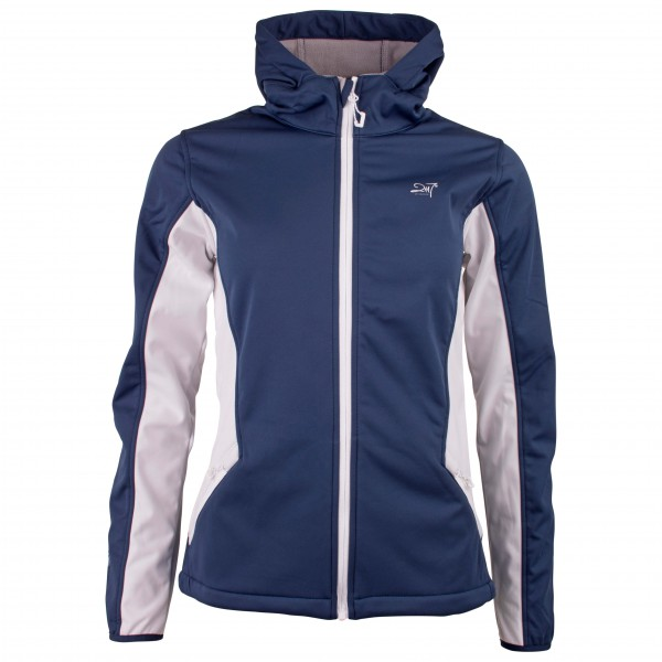 2117 of Sweden - Women's Softshell Jacket with Hood Farbo - Softshell jacket