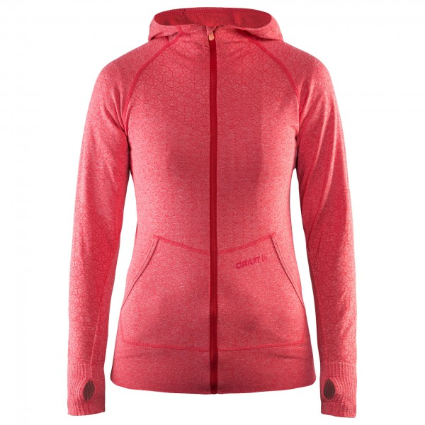 Craft - Women's Smooth Hood Jacket - Sweat- & trainingsjacks