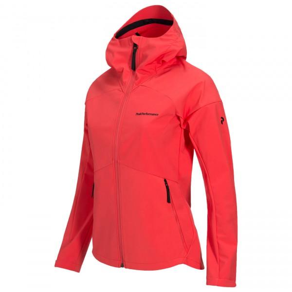 Peak Performance - Women's  Adventure Hood Jacket - Softskjelljakke