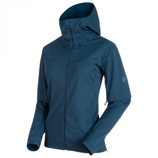 Mammut - Ultimate V SO Hooded Jacket Women - Softshelljacka