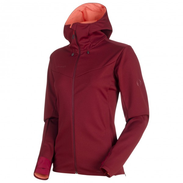 Mammut - Ultimate V SO Hooded Jacket Women - Softshelljacke
