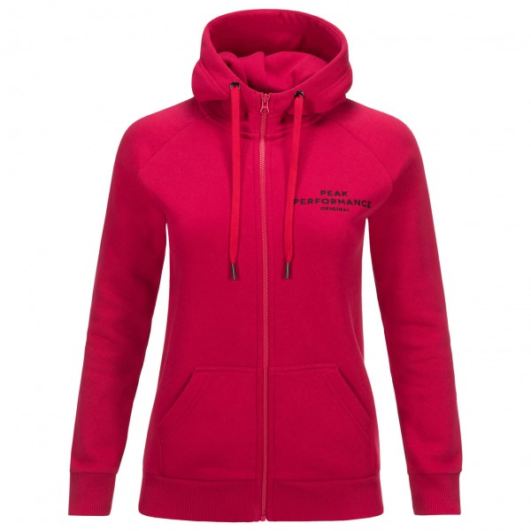 Peak Performance - Women's Logo Zip Hood - Training jacket