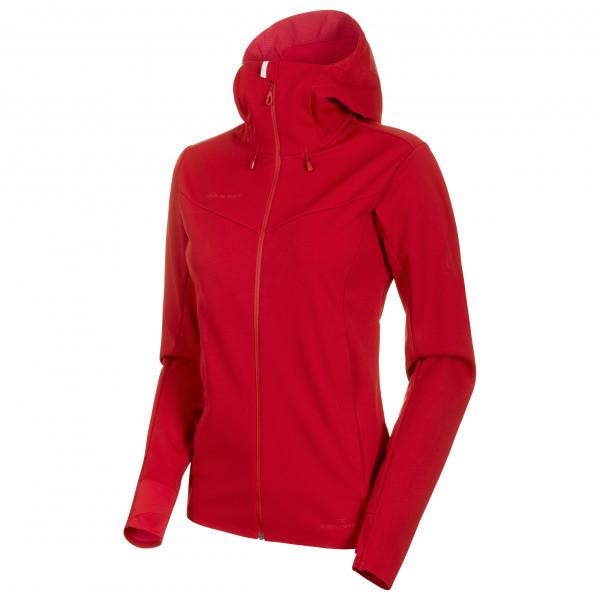 Mammut - Women's Ultimate V So Hooded Jacket - Softskjelljakke