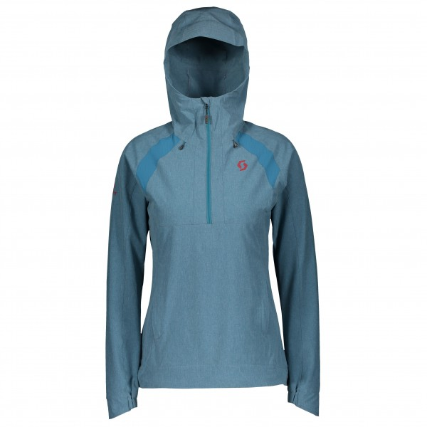 Scott - Women's 1/2 Zip Hoody Trail Mountain Stretch 50 - Softshell jumper